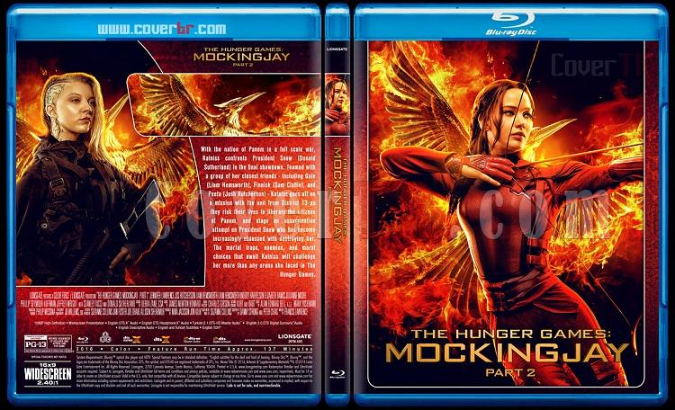 The Hunger Games Collection - Custom Bluray Cover Set - English [2012-2015]-4jpg