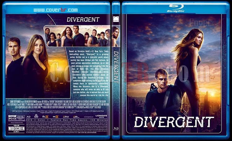 The Divergent Series - Custom Bluray Cover Set - English [2014-2016]-1jpg