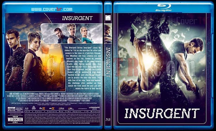 The Divergent Series - Custom Bluray Cover Set - English [2014-2016]-2jpg