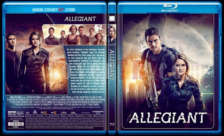 The Divergent Series - Custom Bluray Cover Set - English [2014-2016]-3jpg