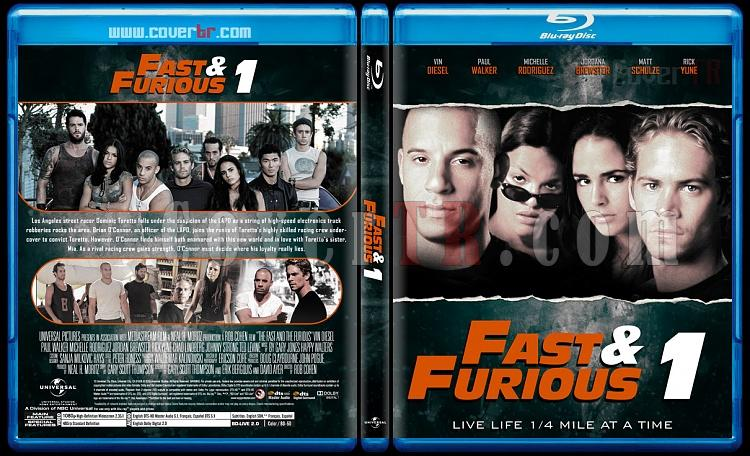 The Fast and the Furious Collection - Custom Bluray Cover Set - English [2001-2017]-1jpg