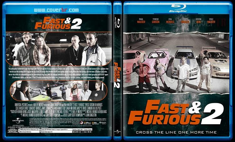 The Fast and the Furious Collection - Custom Bluray Cover Set - English [2001-2017]-2jpg