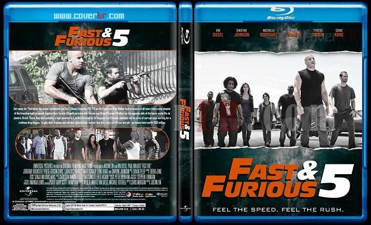 The Fast and the Furious Collection - Custom Bluray Cover Set - English [2001-2017]-5jpg