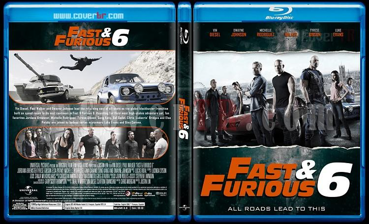 The Fast and the Furious Collection - Custom Bluray Cover Set - English [2001-2017]-6jpg