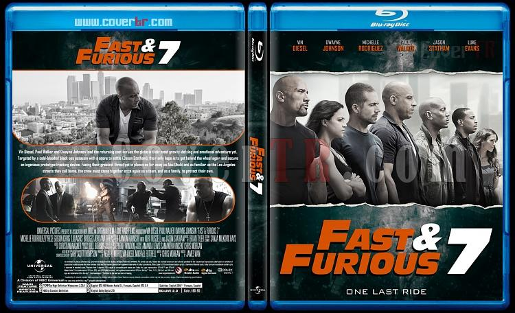 The Fast and the Furious Collection - Custom Bluray Cover Set - English [2001-2017]-7jpg
