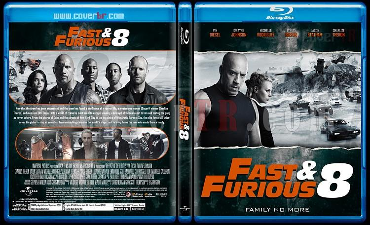 The Fast and the Furious Collection - Custom Bluray Cover Set - English [2001-2017]-8jpg