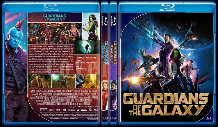 Guardians of the Galaxy - Custom Bluray Cover - English [2014]-0jpg