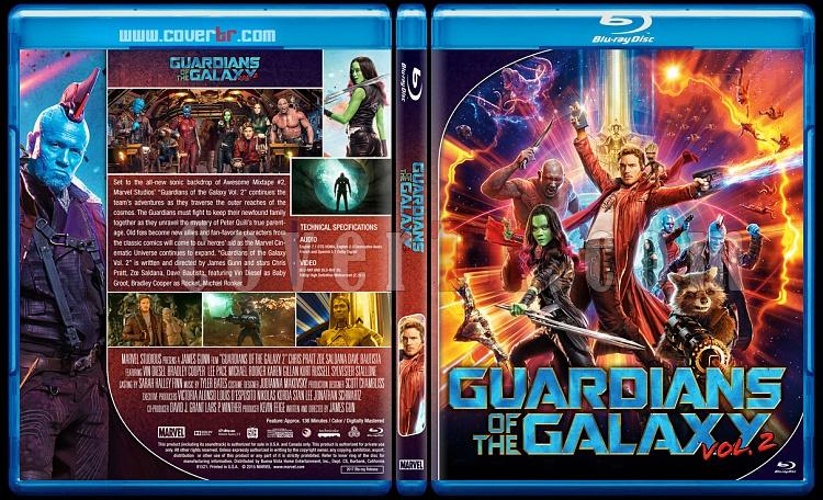 Guardians of the Galaxy - Custom Bluray Cover - English [2014]-2jpg