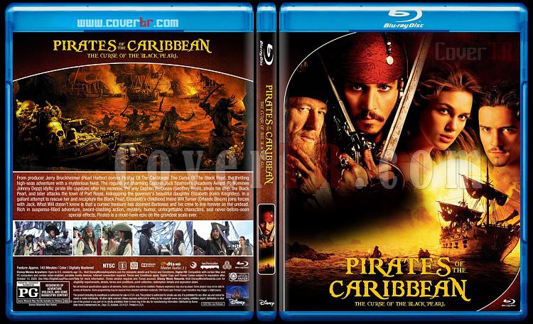 Pirates of the Caribbean Collection - Custom Bluray Cover Set - English [2003-2017]-1jpg