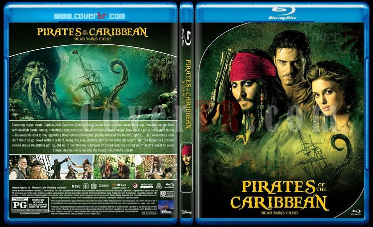 Pirates of the Caribbean Collection - Custom Bluray Cover Set - English [2003-2017]-2jpg