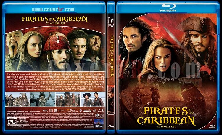 Pirates of the Caribbean Collection - Custom Bluray Cover Set - English [2003-2017]-3jpg