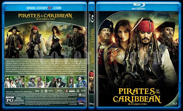 Pirates of the Caribbean Collection - Custom Bluray Cover Set - English [2003-2017]-4jpg