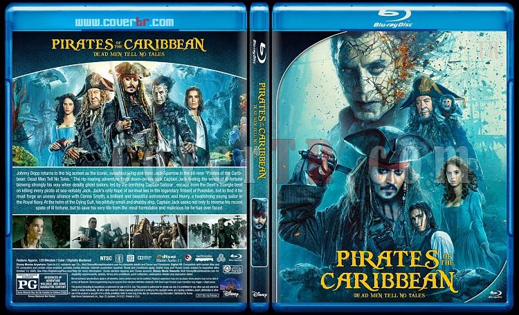 Pirates of the Caribbean Collection - Custom Bluray Cover Set - English [2003-2017]-5jpg