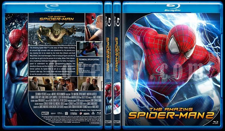 The Amazing Spider-Man Collection - Custom Bluray Cover Set - English [2012-2014]-0jpg