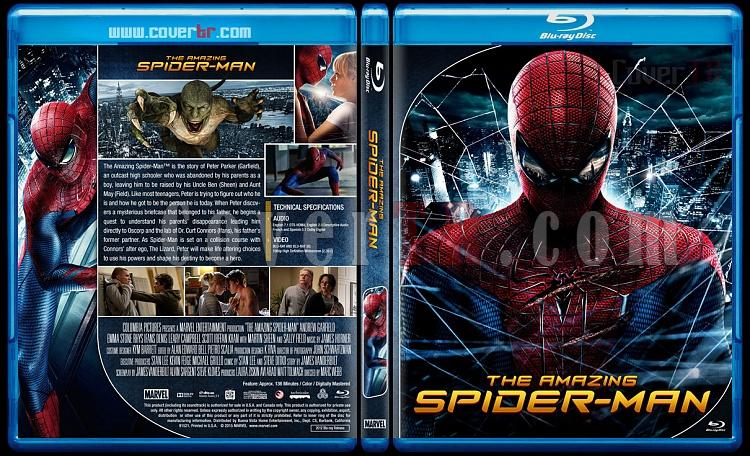 The Amazing Spider-Man Collection - Custom Bluray Cover Set - English [2012-2014]-1jpg