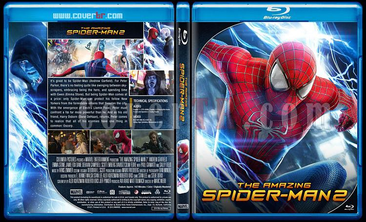 The Amazing Spider-Man Collection - Custom Bluray Cover Set - English [2012-2014]-2jpg
