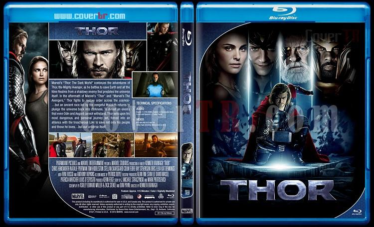 Thor Series - Custom Bluray Cover Set - English [2011 - 2013 - 2017]-1jpg