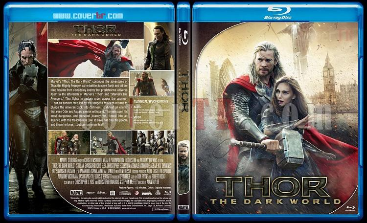 Thor Series - Custom Bluray Cover Set - English [2011 - 2013 - 2017]-2jpg