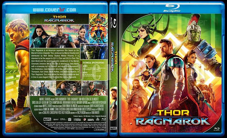 Thor Series - Custom Bluray Cover Set - English [2011 - 2013 - 2017]-3jpg