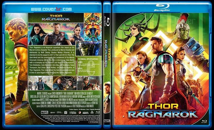 Thor Series - Custom Bluray Cover Set - English [2011 - 2013 - 2017]-3jpg