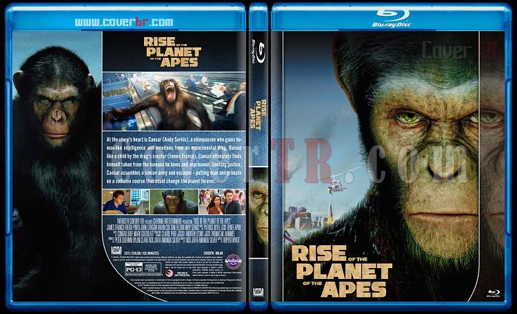 Planet of the Apes Collection - Custom Bluray Cover Set - English [2011-2017]-1jpg