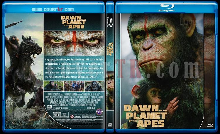 Planet of the Apes Collection - Custom Bluray Cover Set - English [2011-2017]-2jpg
