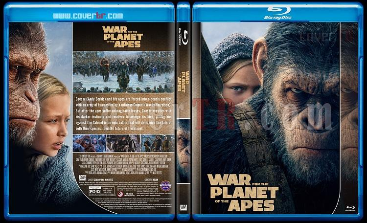 Planet of the Apes Collection - Custom Bluray Cover Set - English [2011-2017]-3jpg
