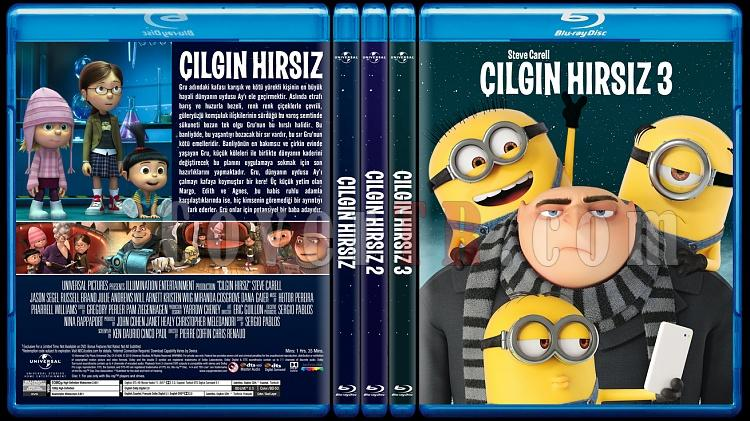 Despicable Me Collection (Çılgın Hırsız Koleksiyonu) - Custom Bluray Cover Set - Türkçe-0jpg
