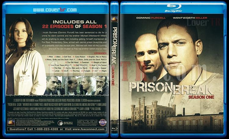 Prison Break (Seasons 1-5) - Custom Bluray Cover Set - English [2005-2017]-1jpg