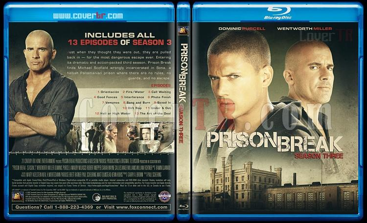 Prison Break (Seasons 1-5) - Custom Bluray Cover Set - English [2005-2017]-3jpg