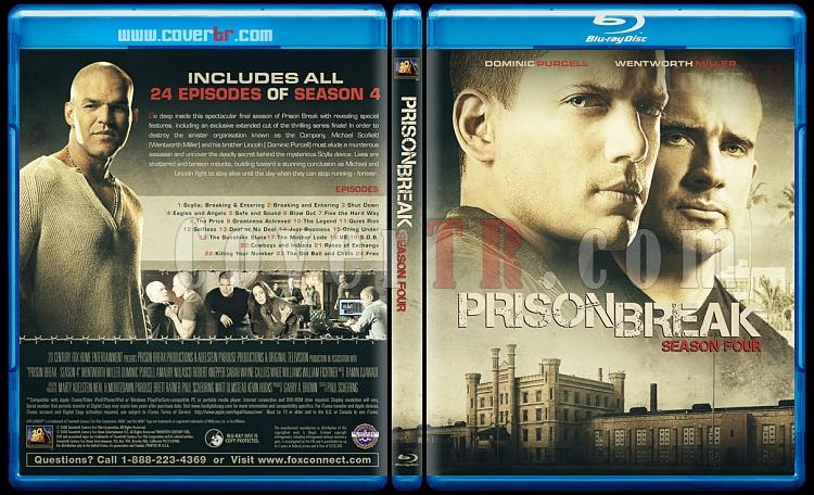 Prison Break (Seasons 1-5) - Custom Bluray Cover Set - English [2005-2017]-4jpg