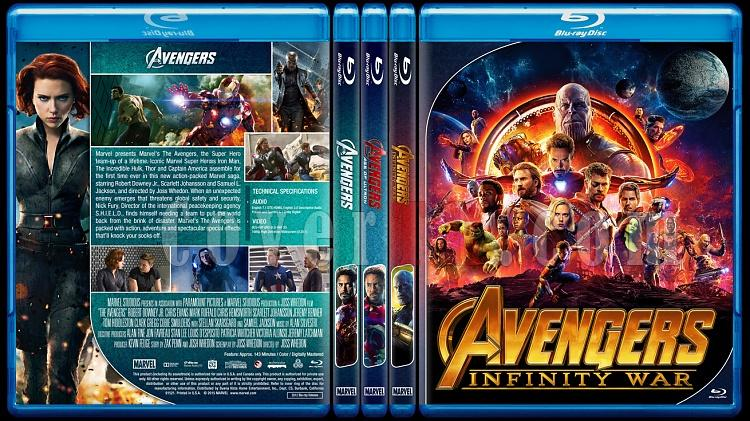 The Avengers Series - Custom Bluray Cover Set - English [2012 - 2015 - 2018]-0jpg