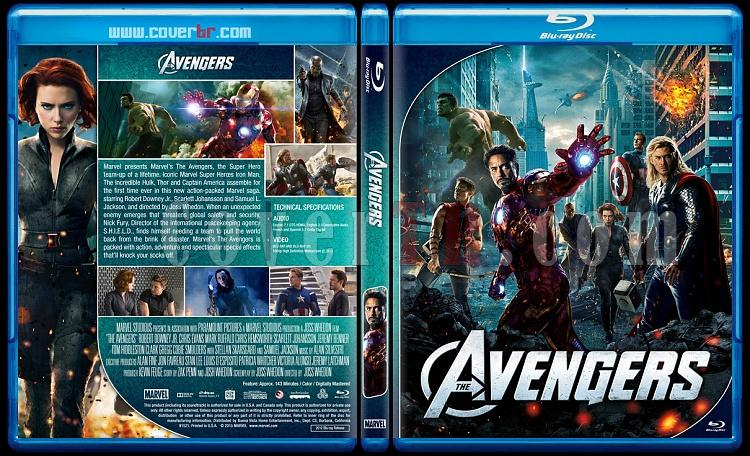 The Avengers Series - Custom Bluray Cover Set - English [2012 - 2015 - 2018]-01jpg