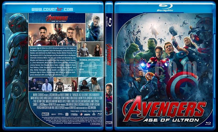 The Avengers Series - Custom Bluray Cover Set - English [2012 - 2015 - 2018]-02jpg