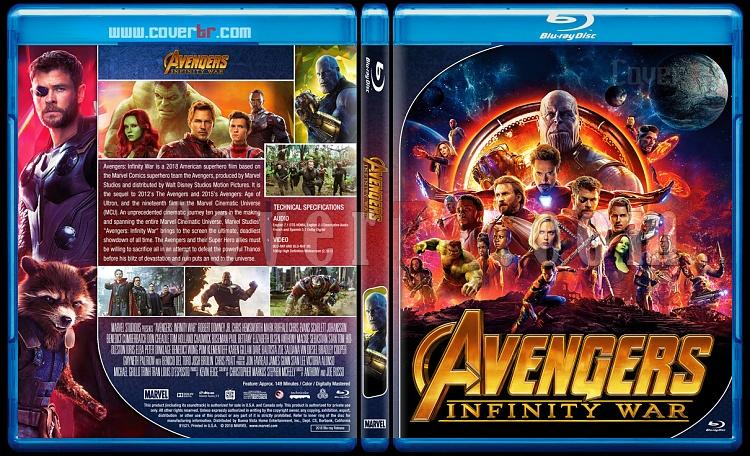 The Avengers Series - Custom Bluray Cover Set - English [2012 - 2015 - 2018]-03jpg