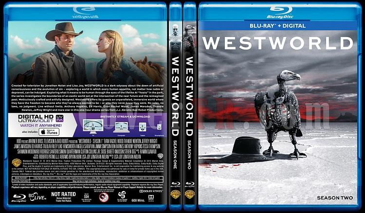 Westworld (Seasons 1-2) - Custom Bluray Cover Set - English [2016-2018]-0jpg