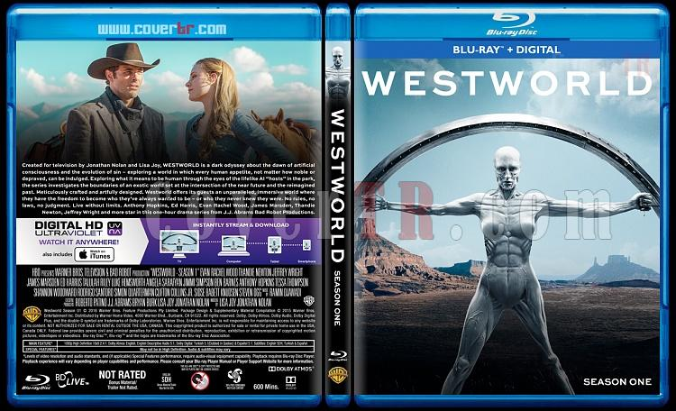 Westworld (Seasons 1-2) - Custom Bluray Cover Set - English [2016-2018]-1jpg
