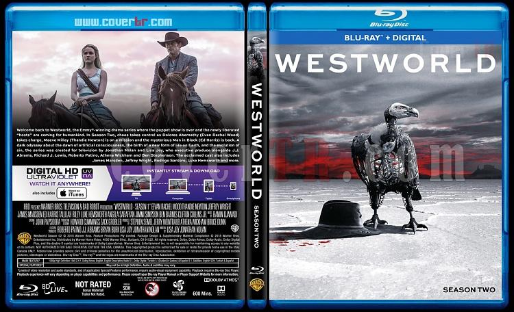 Westworld (Seasons 1-2) - Custom Bluray Cover Set - English [2016-2018]-2jpg