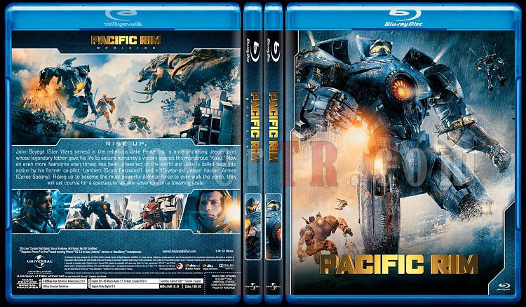 Blu-ray Cover Set - CoverTR Pacific Rim 2013 Bluray
