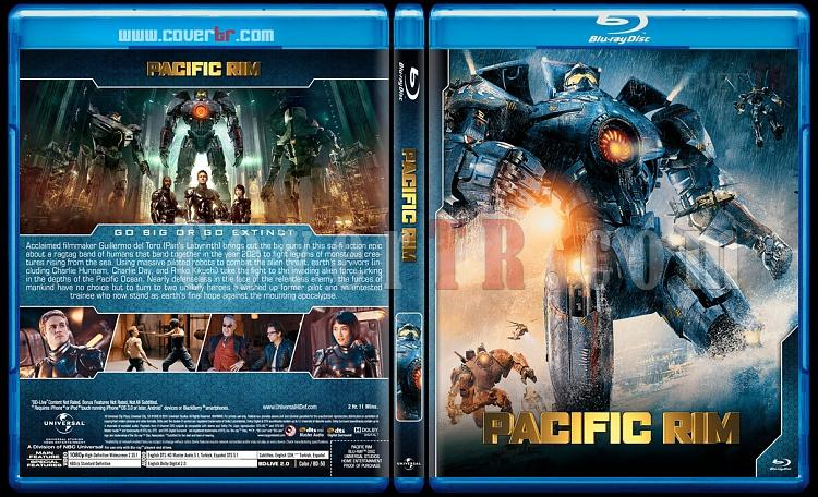 Pacific Rim - Custom Bluray Cover Set - English [2013-2018]-01jpg