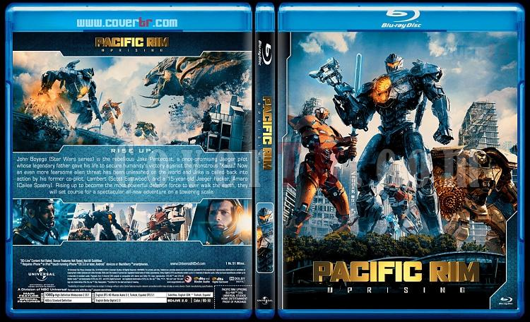 Pacific Rim - Custom Bluray Cover Set - English [2013-2018]-02jpg