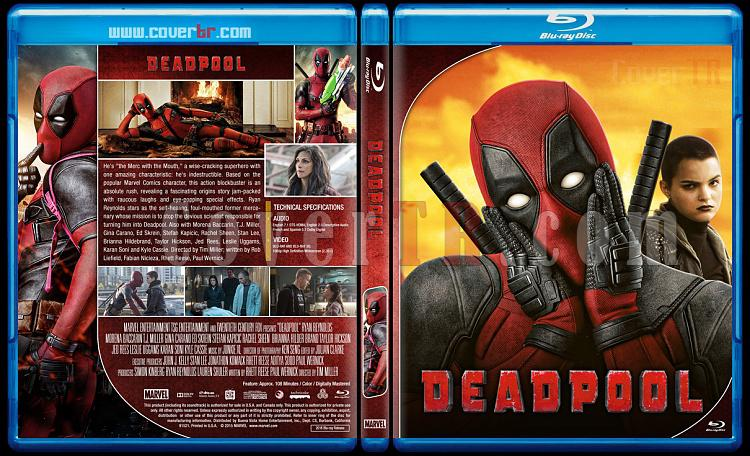 Deadpool - Custom Bluray Cover Set - English [2016-2018]-1jpg