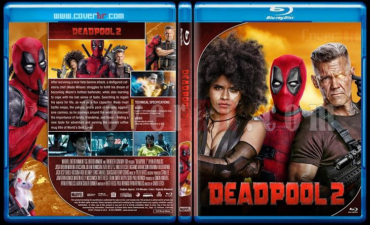 Deadpool - Custom Bluray Cover Set - English [2016-2018]-2jpg