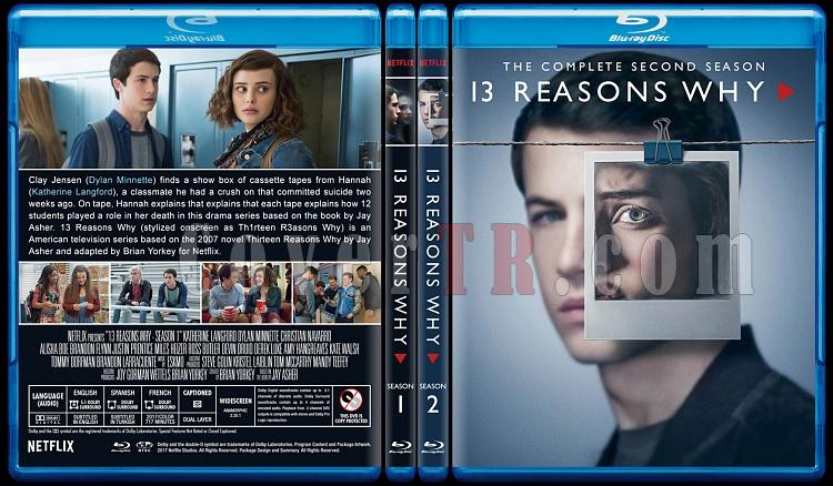 13 Reasons Why (Season 1-2) - Custom Bluray Cover Set - English [2017-2018]-0jpg