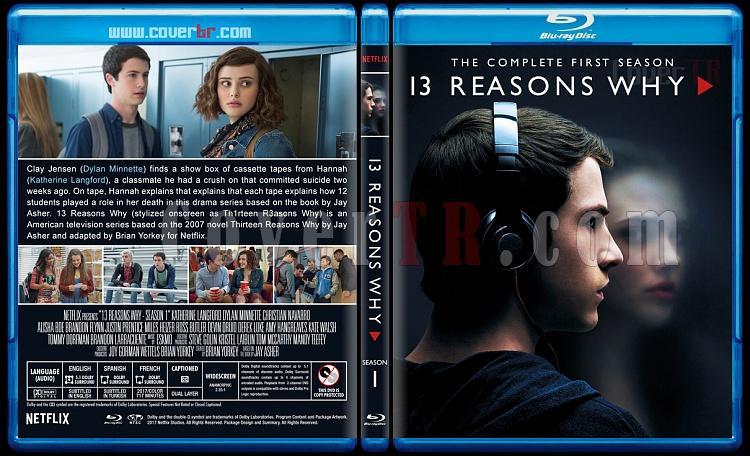 13 Reasons Why (Season 1-2) - Custom Bluray Cover Set - English [2017-2018]-1jpg