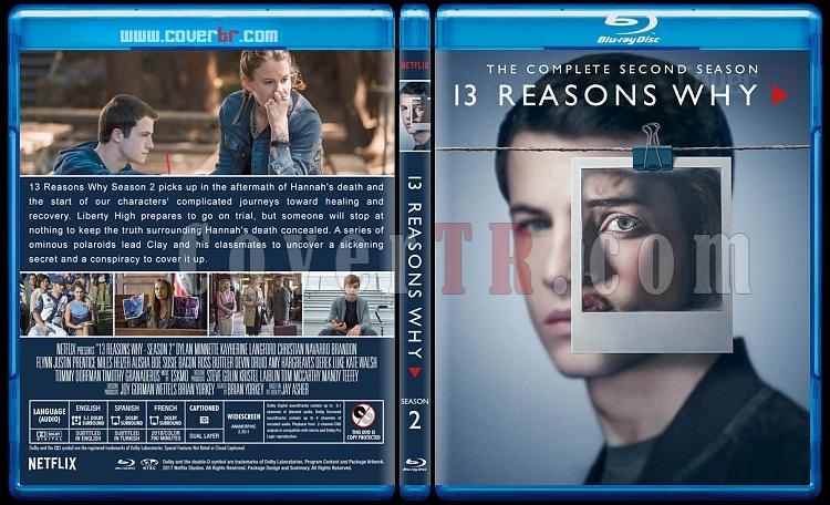 13 Reasons Why (Season 1-2) - Custom Bluray Cover Set - English [2017-2018]-2jpg