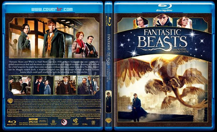 Fantastic Beasts Collection (Fantastik Canavarlar Koleksiyonu) - Custom Bluray Cover Set - English-1jpg