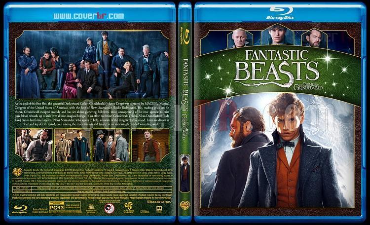 Fantastic Beasts Collection (Fantastik Canavarlar Koleksiyonu) - Custom Bluray Cover Set - English-2jpg