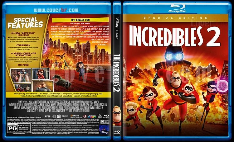 The Incredibles (İnanılmaz Aile) - Custom Bluray Cover - English [2004]-2jpg