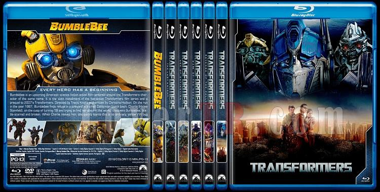 Transformers Collection + Bumblebee - Custom Bluray Cover Set - English [2007-2019]-0jpg